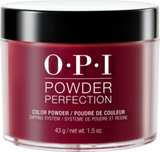 OPI Powder perfection dipping powder product in shade Malaga Wine