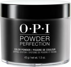 OPI Powder perfection dipping powder product in shade Black Onyx