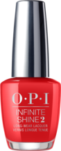 OPI California Dreaming collection bright red nail polish infinite shine formula To the Mouse House We Go!