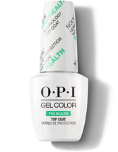 GelColor ProHealth Top Coat - Top & Base Coats - OPI