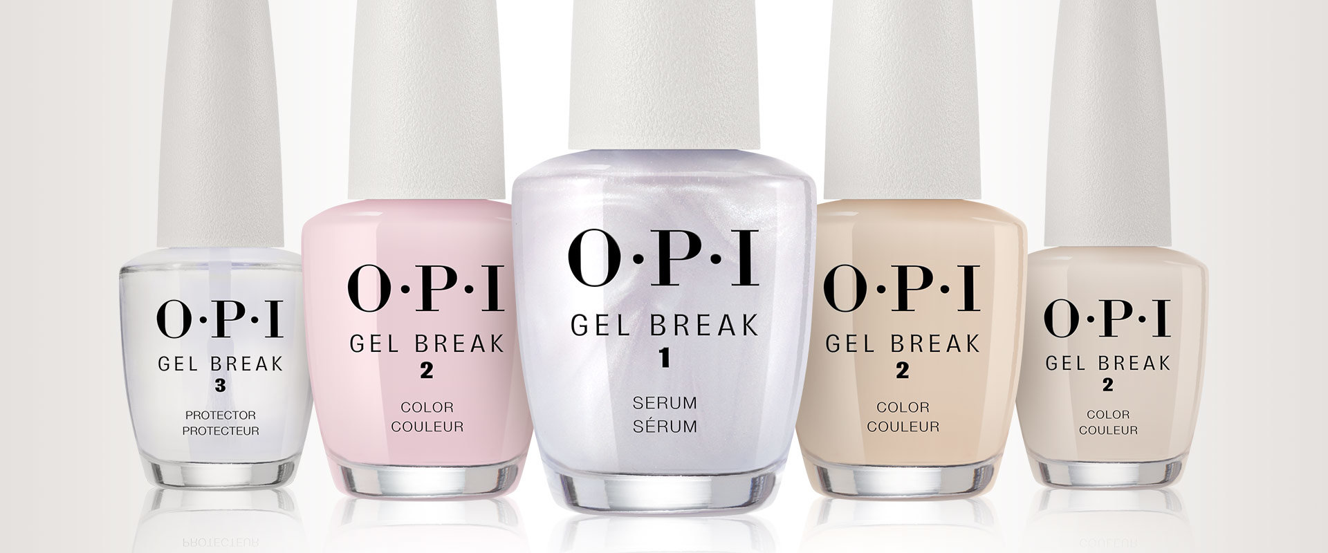 OPI, nail treatment, collection