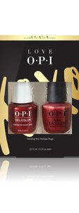 OPI LOVE OPI XOXO GelColor & Nail Lacquer duo pack #2