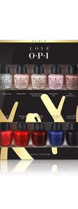 OPI LOVE OPI XOXO Collection mini nail lacquer 10 pack