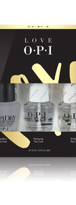 OPI LOVE OPI XOXO Collection TOP COAT TRIO PACK