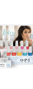 LISBON 7.5ML 14 PC GEL COLOR DISPLAY PLUS 15ML BASE & TOP COATS - Collection Displays - OPI