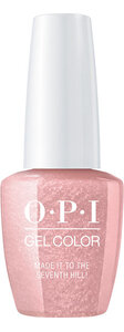 OPI Lisbon collection GelColor nail polish Made it to the Seventh Hill