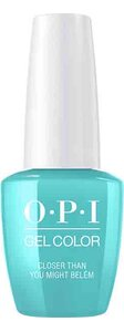 OPI Lisbon Collection GelColor 15 ml nail polish bottle Closer Than You Might Belém