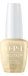 OPI LOVE OPI XOXO Collection GelColor nail lacquer 15 mL bottle Gift of Gold Never Gets Old