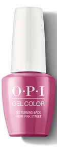 OPI Lisbon Collection GelColor 15 ml nail polish bottle No Turning Back From Pink Street