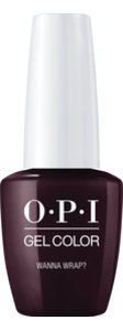 OPI LOVE OPI XOXO Collection GelColor nail lacquer 15 mL bottle Wanna Wrap?