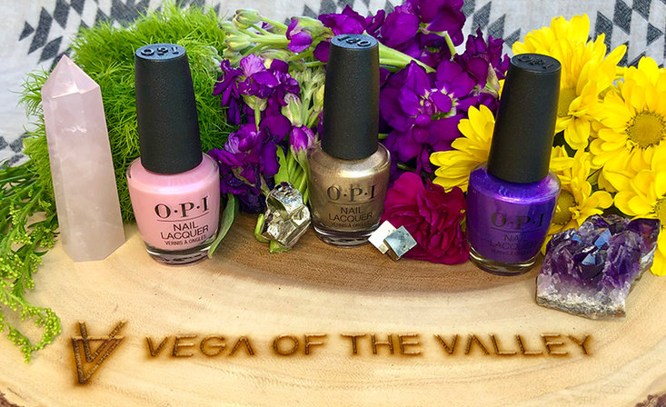 OPI Healing Hands: Shades Inspired by Healing Crystals with Spiritual Advisor @vegaofthevalley