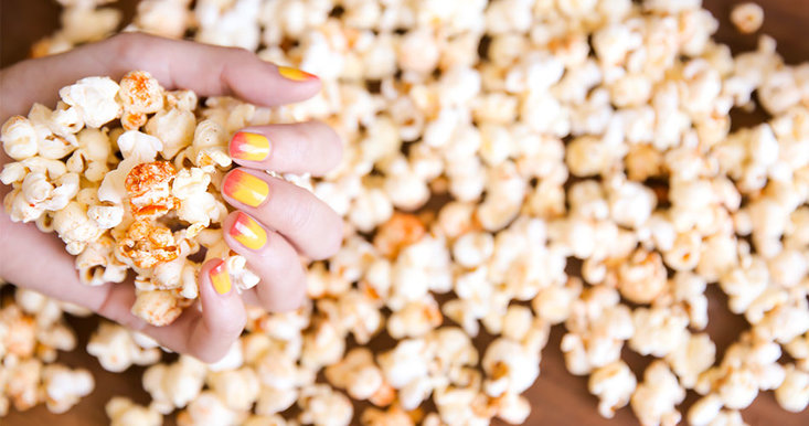 national popcorn day, OPI, popcorn recipes