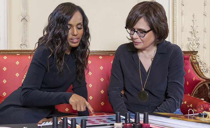 Kerry Washington Casts a Ballot for OPI Color