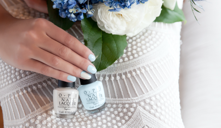#TutorialTuesday: Light Blue Chevron - The Drop Blog by OPI