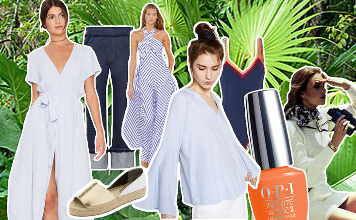 Get the Look: The Sun Never Sets