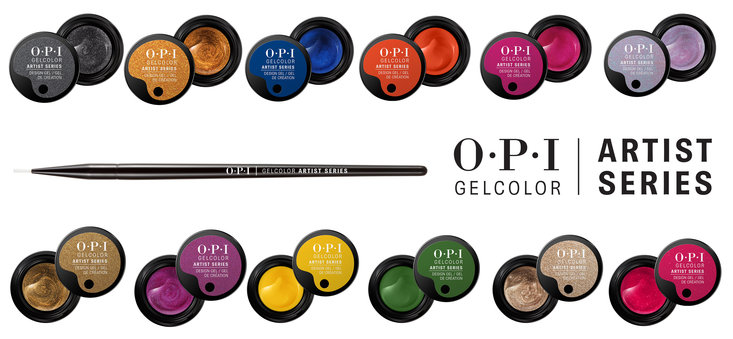 Say Hello To OPI's New Artist Series Design Gels!