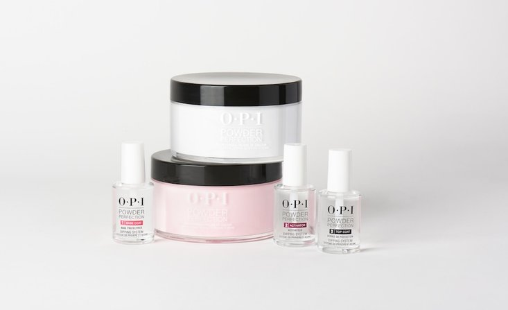 powder perfection, application, steps, professional nails, nail technician, nail art, OPI, french tip