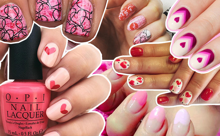 Valentine's Day Nail Art Looks We Love
