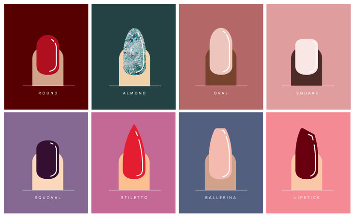 How to Find the Best Nail Shape For Your Hands