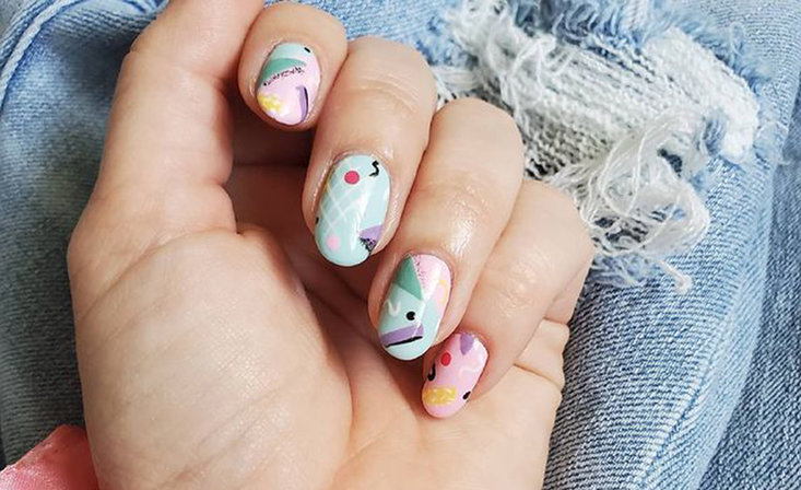 Now Trending: Decade Nails (Inspired by the 70s, 80s, and 90s)