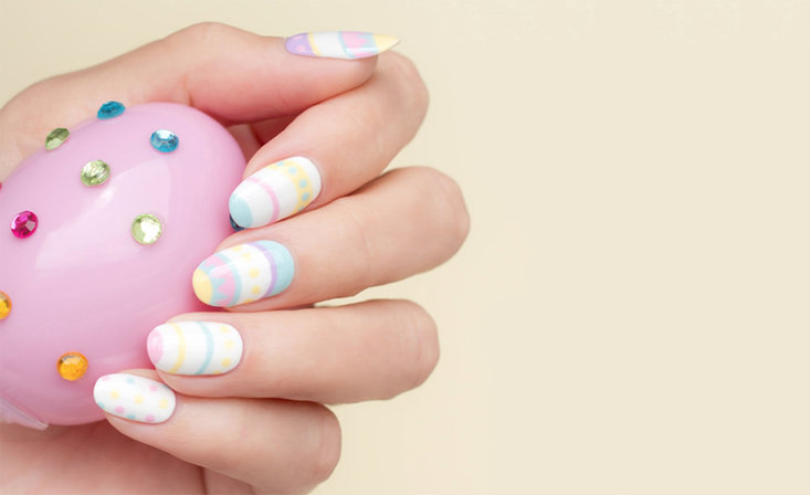 Designscape Tutorial: Classic Easter Manicure by So Nailicious