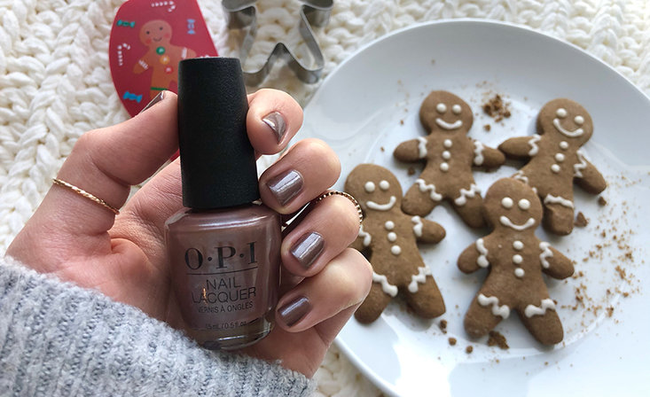 OPI Eats: Bake Spirits Bright with Gingerbread Cookies for the Holidays