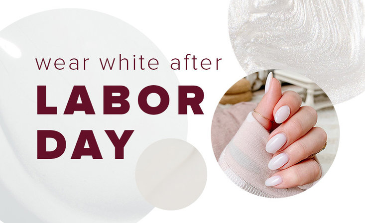 OPI white shades to wear after Labor Day