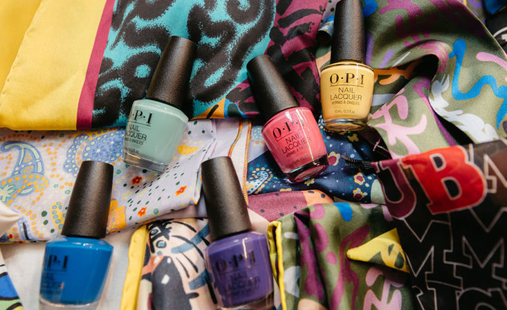 OPI Mexico City Collection Featured at M Missoni Fashion Week