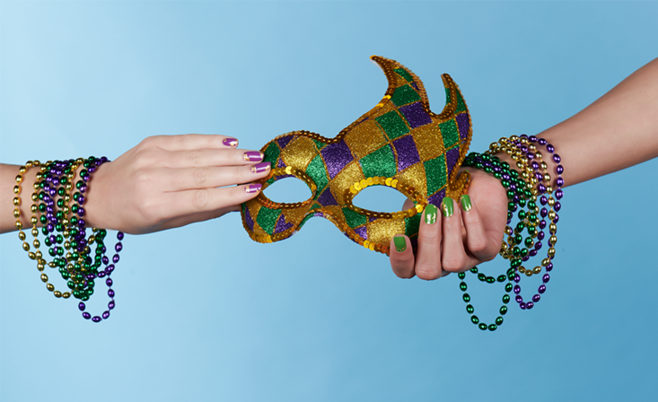 Are your nails Mardi Gras ready?