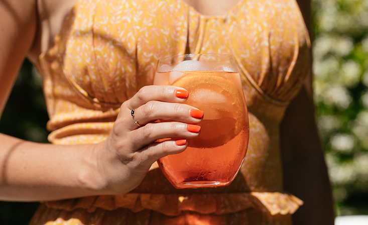 OPI Drinks: Aperol Spritz