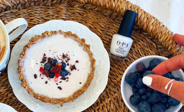 OPI Eats: Collagen Yogurt Parfaits