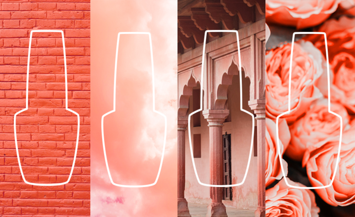 Pantone just announced the color of the year: Living Coral