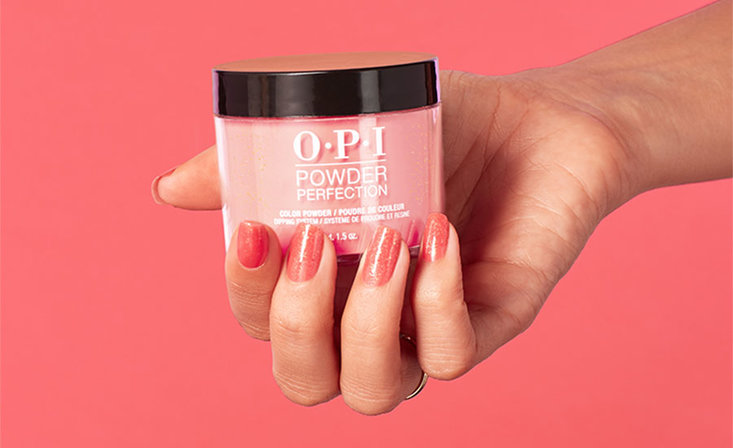 OPI Powder Perfection Application