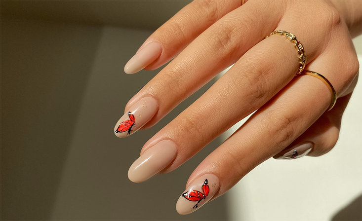 Butterfly Nail Art Challenge for Pros