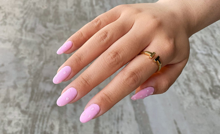 Pink Nail Art Challenge for Pros