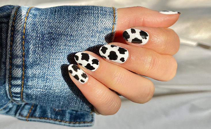 Stay At Home Challenge #5: Animal Print Nail Art!