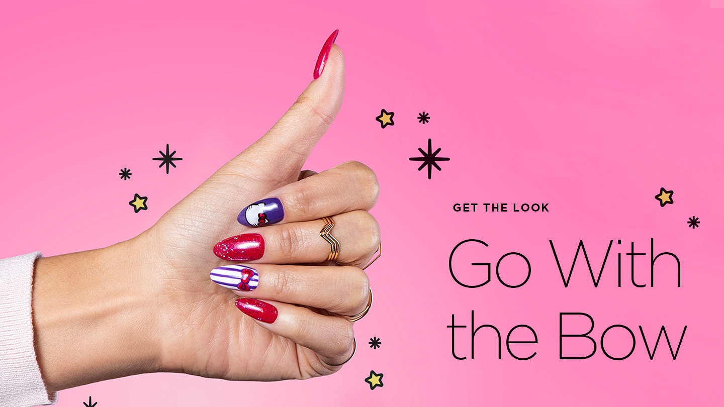 Linework Nail Art Step-by-Step: Go With the Bow | OPI