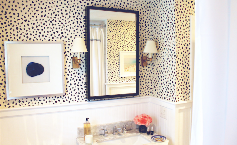 OPI in the House: Bathroom Revamp with an Edgy Twist - The Drop Blog by OPI