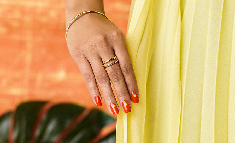 OPI Mexico City Nail Art: Get the look - On the Dot