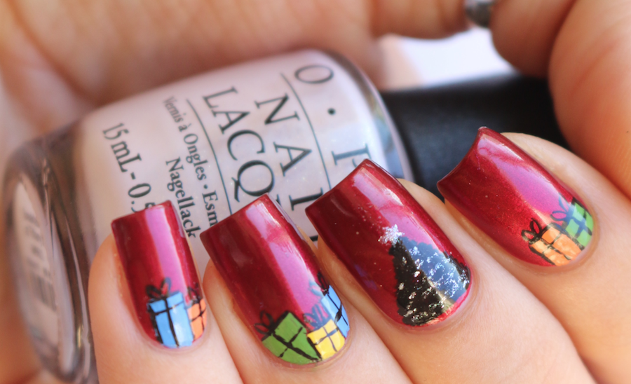Designscape Tutorial: Christmas Tree - The Drop Blog by OPI