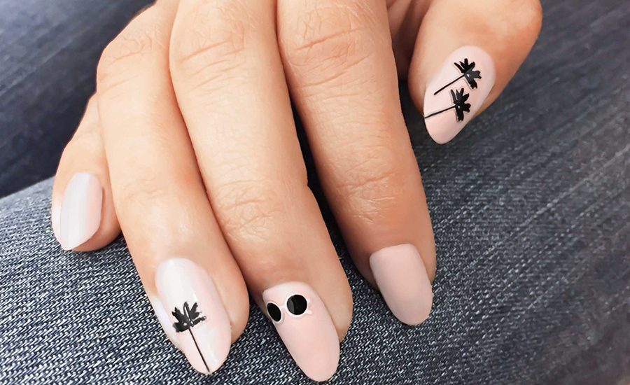 OPI, blog, all about the nails, olive and june festival, palm tree, cover