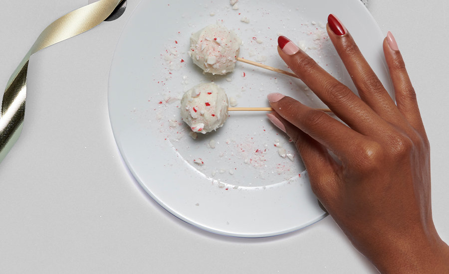 OPI EATS: Holiday Cake Pops