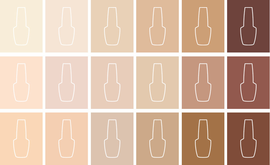 The Perfect OPI Nude Nail Polish Shade for Every Skin tone