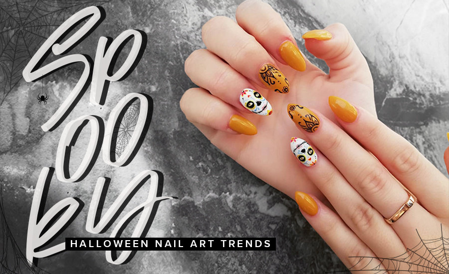 Get inspired by these Halloween nail art looks