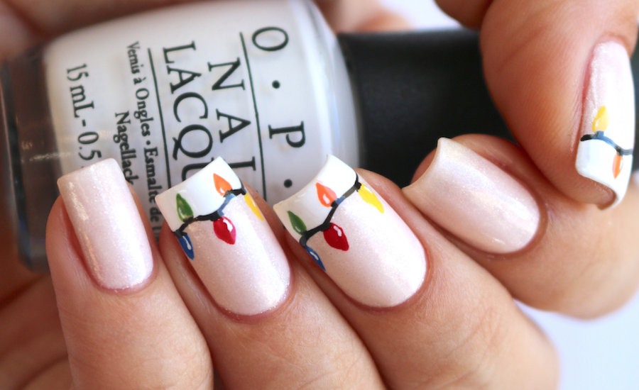 Designscape Tutorial: Christmas Lights - The Drop Blog by OPI