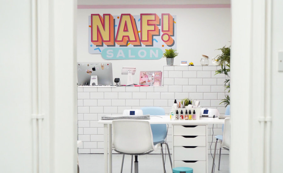 NAF! Salon is located in the heart of Glasgow