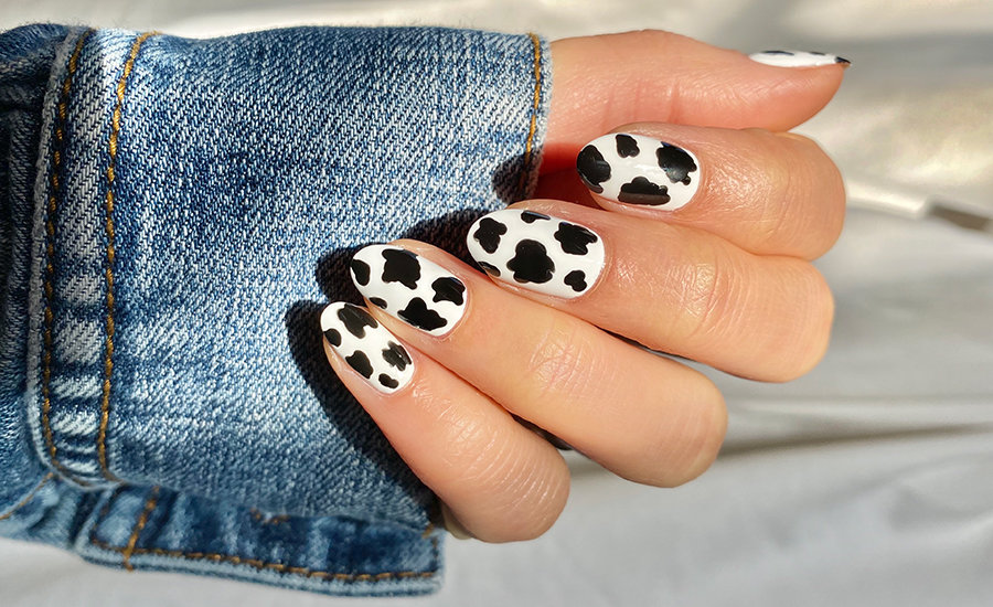 OPI's Stay at home challenge - animal nail art