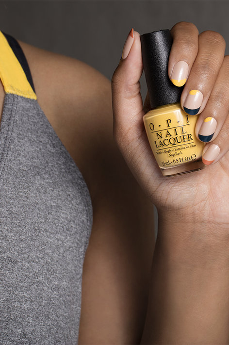 OPI, Washington DC, Kerry Washington, fall nail art, nail polish art
