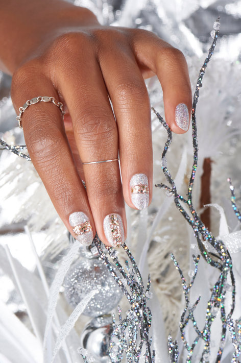 Nutcracker Nail Art Waltz of the Snowflakes