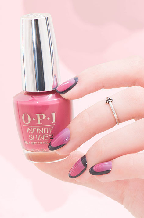 OPI Iceland collection infinite shine long wear nail polish nail art